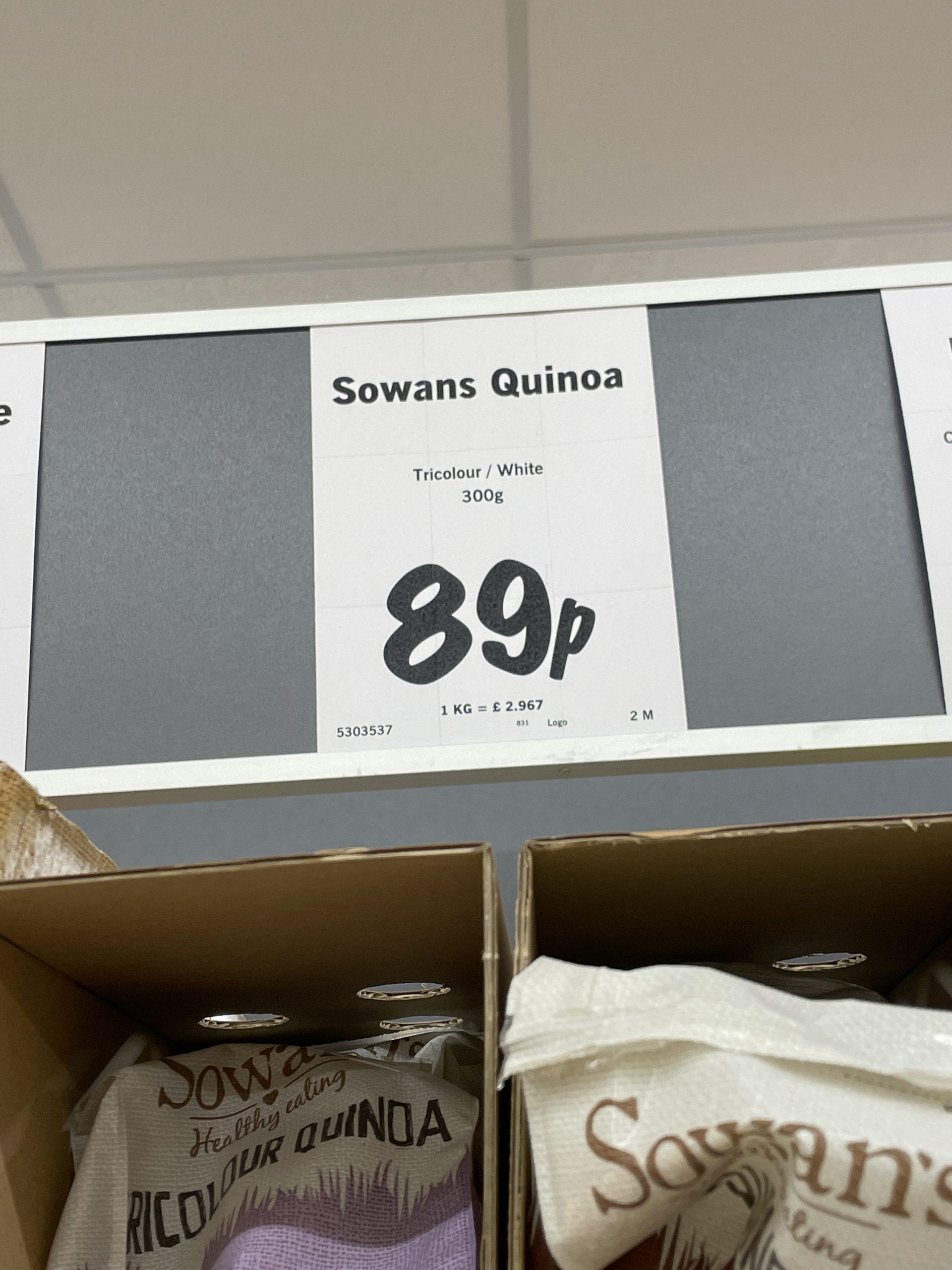 Lidl quinoa