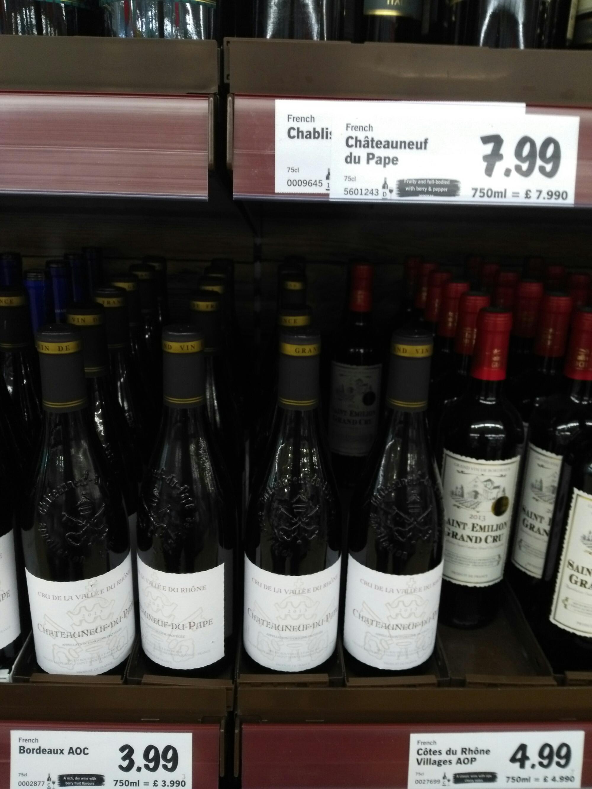 Lidl wine