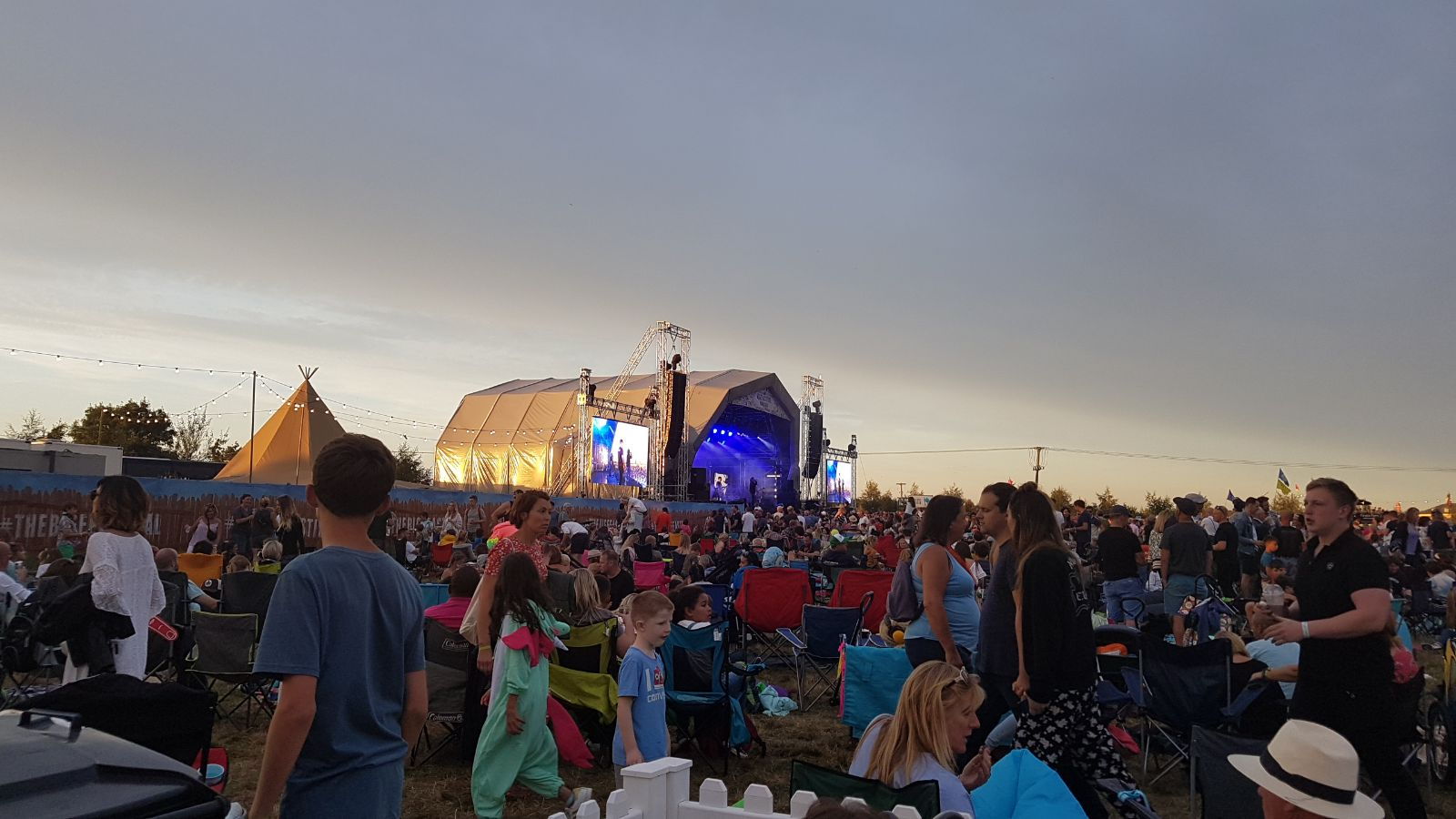 My forking Travels..... Alex James The Big Feastival