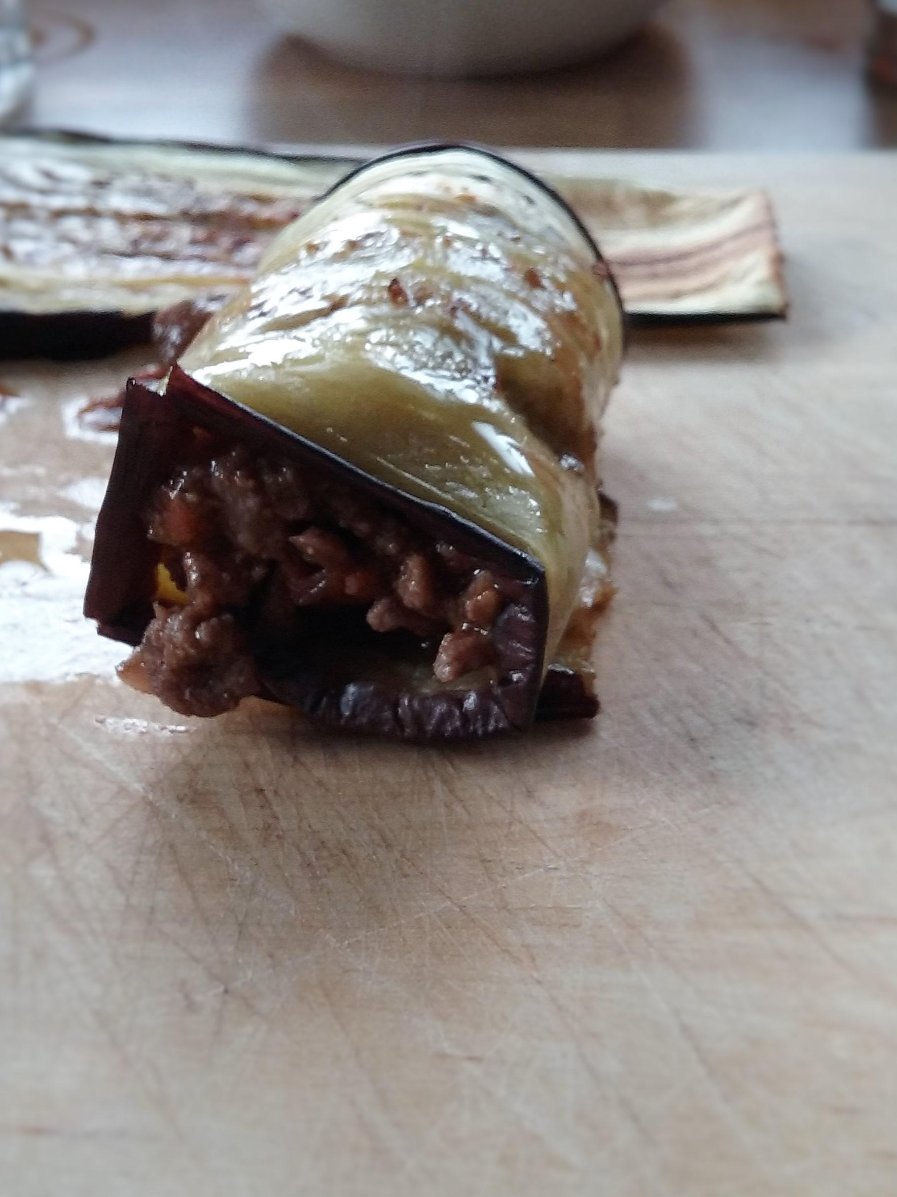 Beef & Aubergine cannelloni