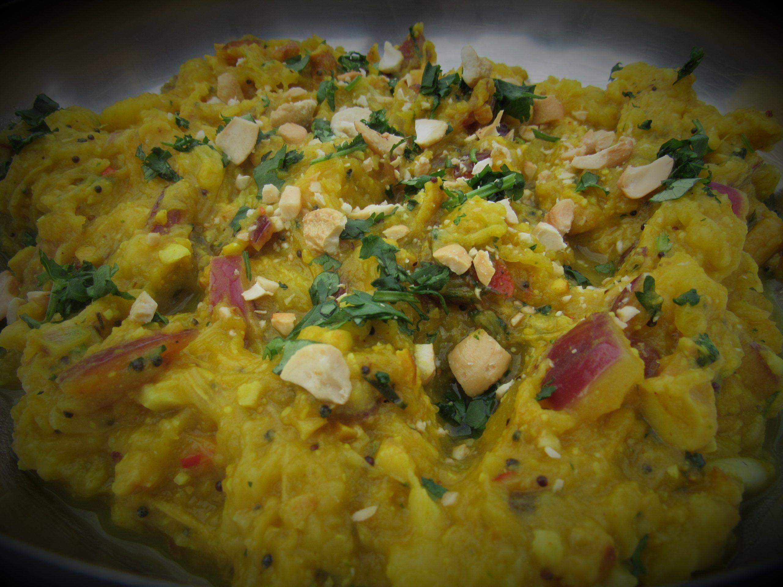 Spicy Indian Pumpkin recipe