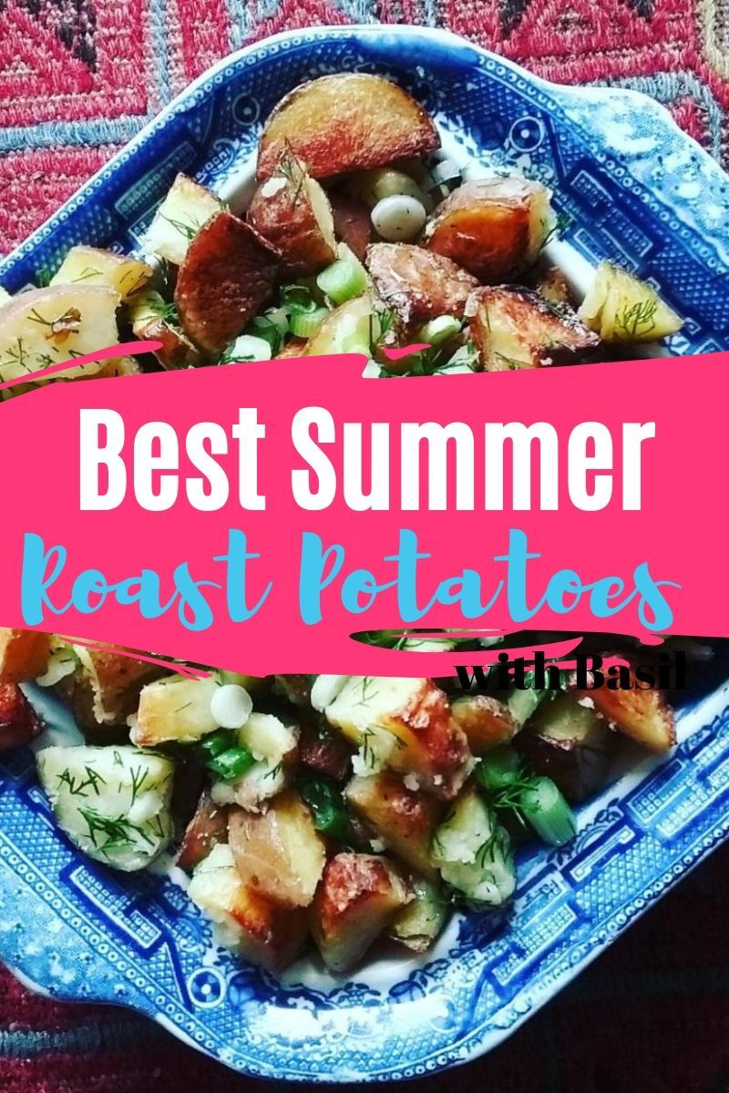 best summer roast potatoes
