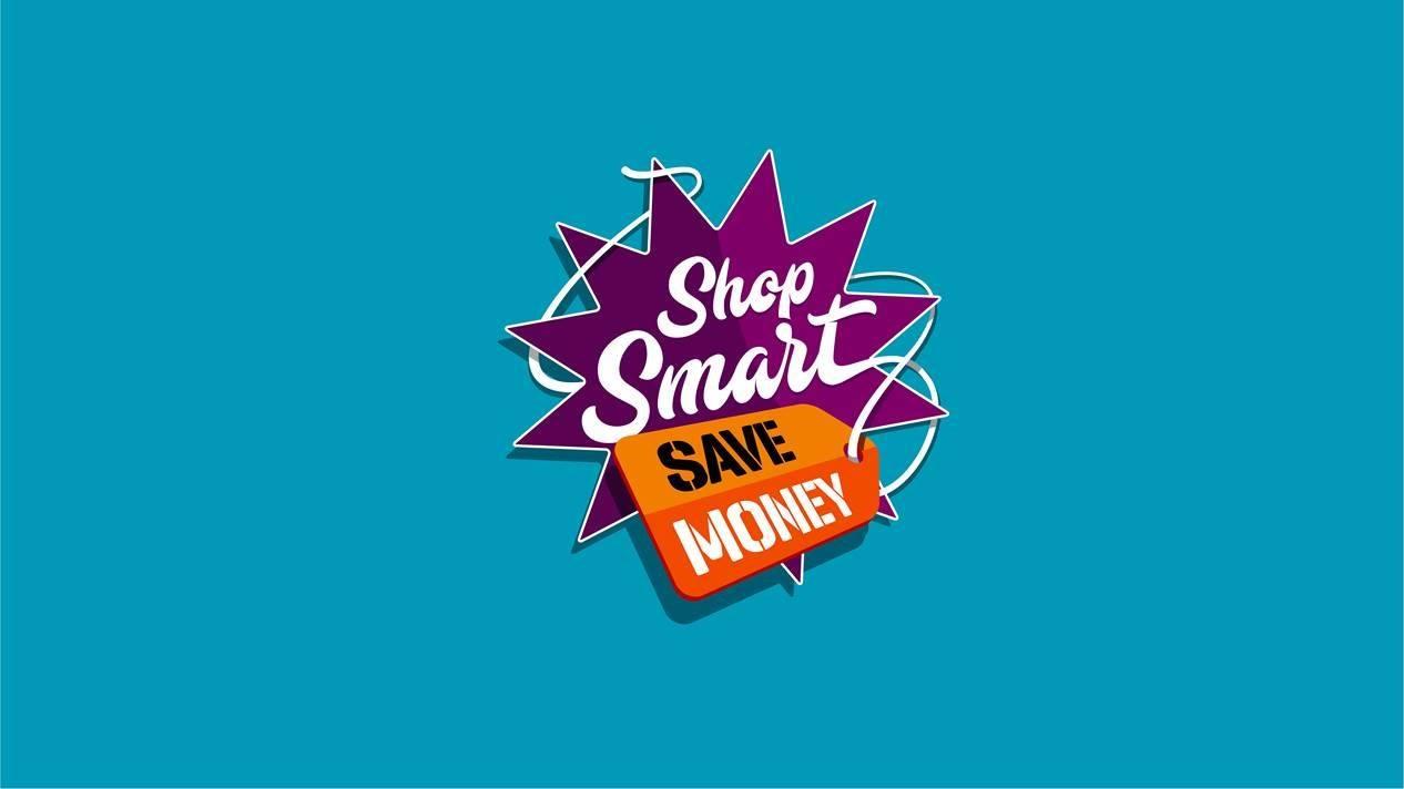 shop smart save money logo