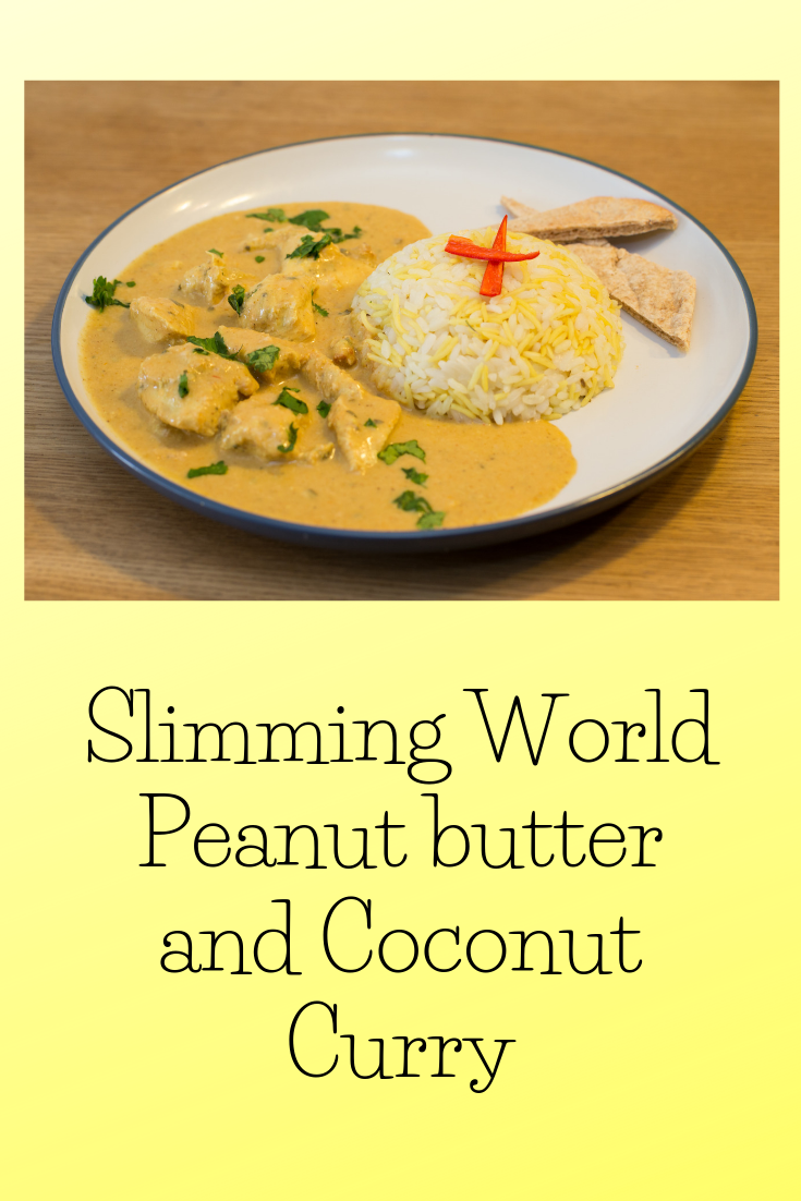 Slimming World Peanut butter and Coconut Curry